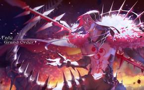 Картинка секси, оружие, аниме, арт, парень, берсеркер, Fate / Grand Order