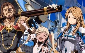 Картинка gun, game, armor, weapon, anime, asian, japanese, oriental, asiatic, mahou, Granblue Fantasy, Granblue Fantasy: The …