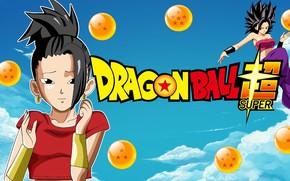 Картинка DBS, game, anime, manga, Dragon Ball, Dragon Ball Super, japonese, Caulifla, Kale