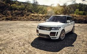 Обои Land Rover, Range Rover, Vorsteiner, кроссовер, рендж ровер, ланд ровер