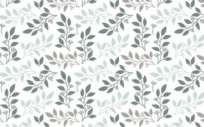 Картинка цветы, текстура, background, pattern, leaves