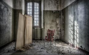Картинка фон, окно, стул