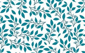 Картинка фон, текстура, background, pattern, leaves