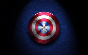 Обои Америка, captain america, звезда, щит, Капитан Америка, супергерой Marvel, супергерой, Капитан