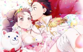 Картинка аниме, арт, двое, Osomatsu-san