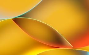 Картинка желтый, полосы, Узор, Абстракция