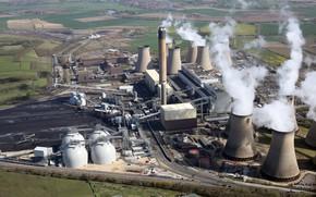 Картинка steam, energy, nuclear plant