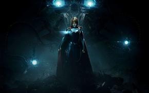 Обои Kara Zor-El, yuusha, strong, Injustice, girl, Injustice 2, Supergirl, hero, Linda L. Danvers, DC Comics, ...