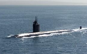 Картинка лодка, подводная, SSN 758, USS Asheville
