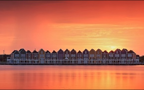 Картинка дома, Нидерланды, архитектура, Голландия, Хаутен, Houten