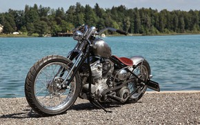 Картинка Chopper, Custom, Motorbike, Motorcycle, Bobbers