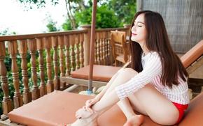 Картинка girl, woman, asian