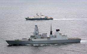 Картинка корабли, флот, средиземное море