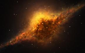 Обои звезды, туманность, вселенная