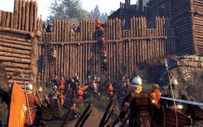Картинка open, army, sword, ken, weapon, spear, arrow, warriors, bow, war, seifuku, man, Mount & Blade ...