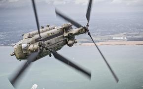 Обои Chinook, военно, транспортный, полет, CH-47, вертолёт