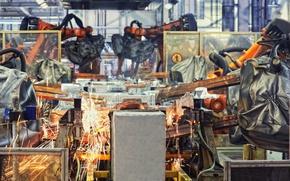 Картинка industrial, equipment, Robotic welders