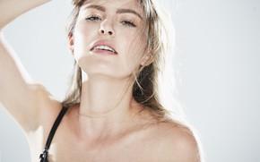 Картинка взгляд, лицо, модель, волосы, Isabel