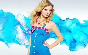 Картинка взгляд, модель, блондинка, певица, Taylor Swift, Taylor Alison Swift