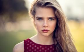 Картинка портрет, девочка, Natural Light Portrait, Zubair Aslam, Skyla