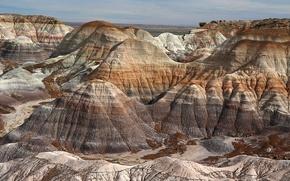 Картинка горы, природа, Аризона, США, Петрифайд-Форест
