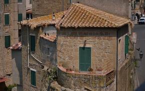 Картинка Дома, Италия, Здания, Italy, Тоскана, Italia, Toscana, Tuscany, Town
