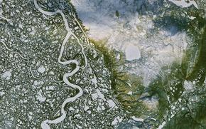 Обои Mackenzie River, Canada, Delta