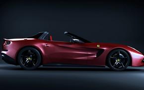Картинка дизайн, автомобиль, La Rouge Ferrari Auto
