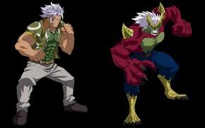 Картинка game, anime, man, asian, manga, japanese, Fairy Tail, oriental, asiatic, strong, mahou, Elfman Strauss, taker …