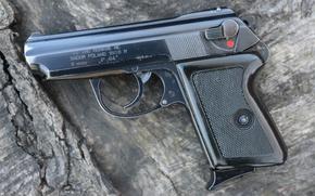 Картинка пистолет, польский, самозарядный, P-64