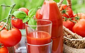 Картинка напиток, томаты, томатный сок