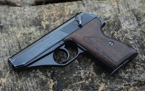 Картинка пистолет, Mauser HSC, самозарядный, немецкий