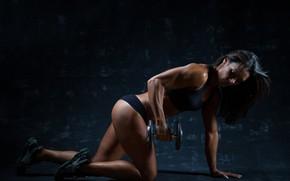 Обои workout, female, fitness