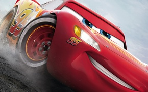 Картинка car, Cars, Cars 3, Lightning McQueen, animated movie animated film