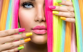 Картинка стиль, colors, макияж, прическа, маникюр, makeup, Анна Субботина