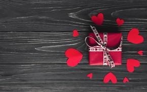 Картинка Сердечки, Праздник, Подарок, День свявтого валентина, День влюбленных