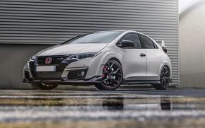 Картинка Honda, White, Civic, Type-R, FK2