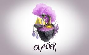Картинка Music, Glacier, Cover, Monstercat, Q'AILA, Dancing By Myself