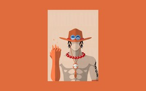 Картинка skull, game, One Piece, pirate, hat, anime, asian, manga, japanese, necklace, oriental, asiatic, Portugas D. ...