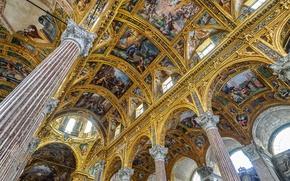 Обои Италия, Базилика, Генуя, Сантиссима Аннунциата дель Вастато