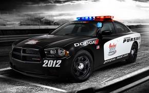 Картинка авто, Dodge, 2012, Charger, полиция США