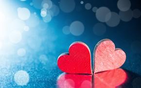Картинка фон, сердце, красное сердце