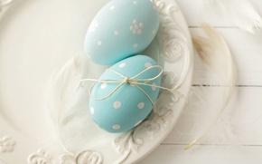 Картинка Пасха, spring, Easter, eggs, Happy, pastel, яйца крашеные