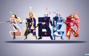 Картинка фон, сейбер, Fate / Grand Order, Судьба великая кампания