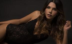 Картинка лицо, модель, волосы, фигура, красотка, Lina Rivera