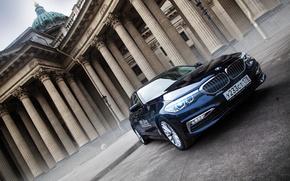 Картинка car, машина, авто, city, туман, гонка, bmw, бмв, тачка, спорт кар, автомобиль, need for speed, …