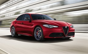 Картинка скорость, Alfa Romeo, 2018, Giulia, Veloce, Ti Q4
