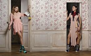 Картинка бренд, Gigi Hadid, Bella Hadid, Vittoria Ceretti, Fendi