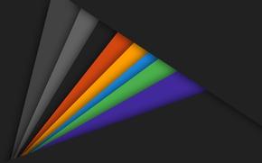 Картинка линии, оранжевый, желтый, серый, голубой, черный, текстура, wallpaper, салатовый, design, color, material