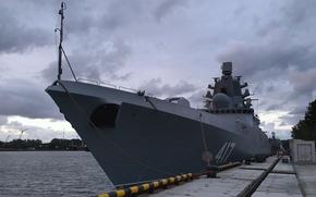 Картинка корабль, ВМФ, фрегат, сторожевой, Адмирал Флота Советского Союза Горшков